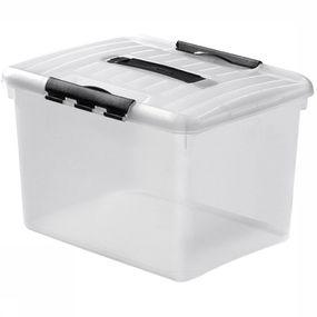 Diverse Opbergbox Multibox Optima Met Deksel 27 Liter