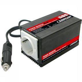Carpoint Diverse Omvormer 12v -> 230v 150-300 Watt - Zwart