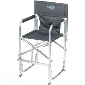 Bo-Camp Stoel Kinderstoel Opvouwbaar - Grijs