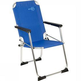 Bo-Camp Relaxstoel Kinderstoel Copa Rio Safety-lock Blauw - Blauw