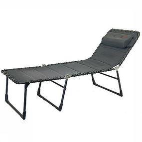 Crespo Relaxstoel Vouwbed Ap-364- Xl Air-deluxe - Grijs