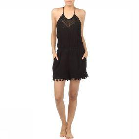 Jumpsuit Racy Lacy Trim Playsuit
