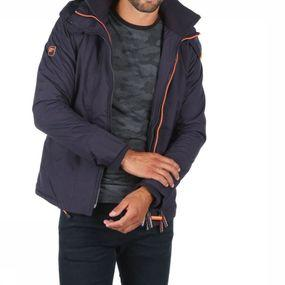 Coat Pop Zip Hood Arctic Wndcheater
