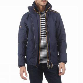 Jas Technical Pop Zip Windcheater