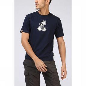 UAX T-shirt Bike Man voor heren Blauw