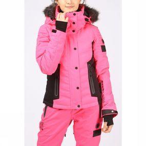 Superdry Jas Luxe Snow Puffer voor dames - Roze