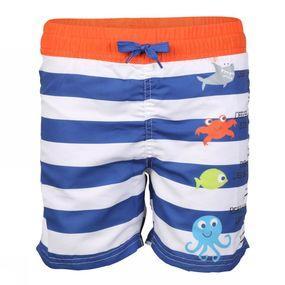 Knot so bad Zwemshort Stripe voor jongens - Blauw