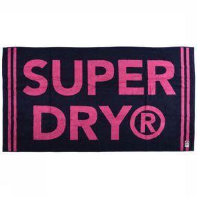 Superdry Strandhanddoek Stripe - Blauw