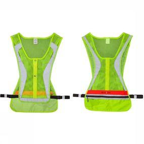Reflective Material Led Run Vest