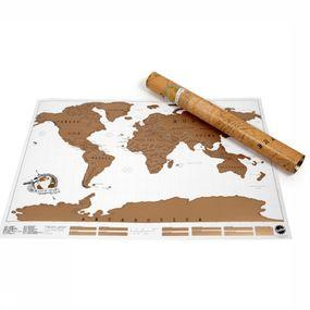 Gadget Scratch Map Monde