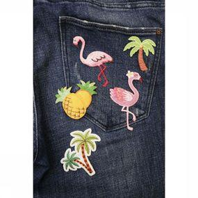 Gadget Tropical Iron-On Patches