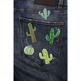 Gadget Cactus Iron-On Patches