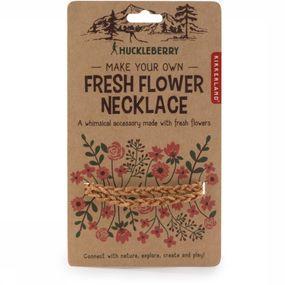 Kikkerland Gadget Hb Fresh Flower Necklace - Bruin