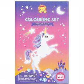 Jeu Colouring Sets Unicorn Magic