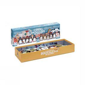 Spel 10 Penguins Puzzle