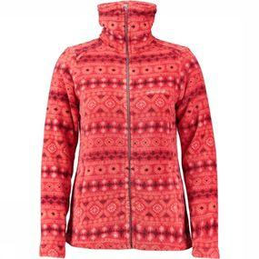 Fleece Crevasse Winter High Collar Printed
