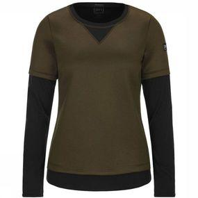 Pullover W Mountain Double Layer Sweater