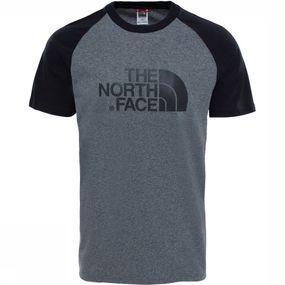 The North Face T-shirt Raglan Easy voor heren - Grijs