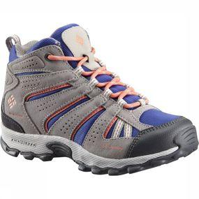 Columbia Schoen Youth North Plains Mid Waterproof voor kinderen - Grijs