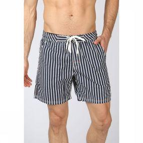 Swim Shorts Vertical Stripes