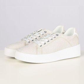 Esprit Sneaker 039ek1w059 voor dames – Bruin