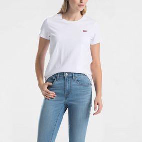 Levi's T-shirt Perfect Tee voor dames – Wit