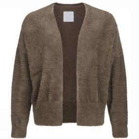 Cardigan Fluffy Mix Plain