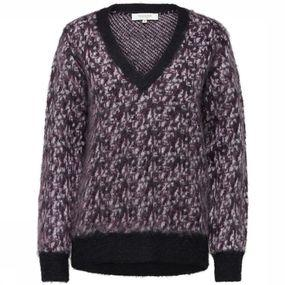 Trui Sf Maline Ls V Neck Knit