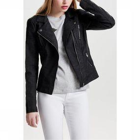 Blazer Onlsteady Faux Leather Biker