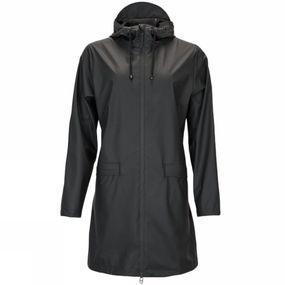 Rains Jas W Coat voor dames - Zwart