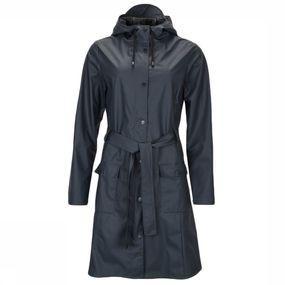 Rains Jas Curve Jacket voor dames – Blauw
