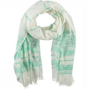 Sjaal Green Stripe