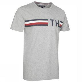 T-Shirt Striped Graphic