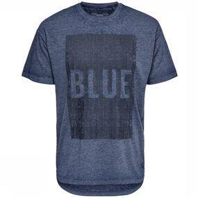 Only&Sons T-shirt Phil Drop Shoulder voor heren – Blauw