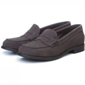 Shoe Suede Loafer