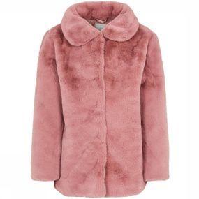 Name It Jas Fmona Faux Fur voor meisjes - Rood