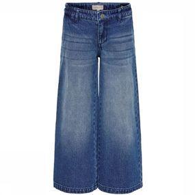 Kids Only Jeans Lisa Wide Cropped voor meisjes – Blauw