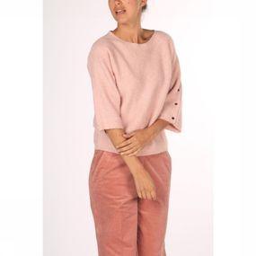 Terre Bleue Trui Kristel 00 3/4m voor dames – Roze