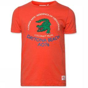 T-Shirt C-Neck Crocodile
