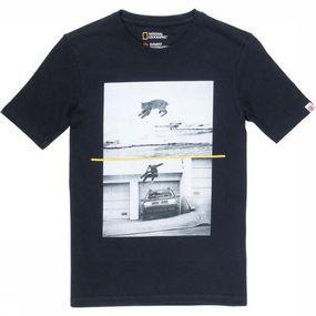 Element T-shirt Bobcat Westgate Ss voor jongens – Zwart