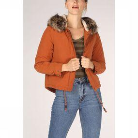 ONLY Jas New Skylar Aw Fur Parka Cc Otw voor dames - Oranje