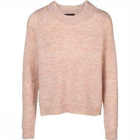 Object Trui Nete Ls Knit O Neck Pullover Seasonal voor dames – Roze