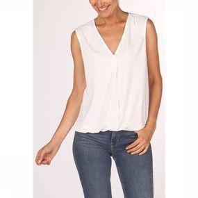 Vero Moda T-shirt Milla Sl Vo voor dames – Wit