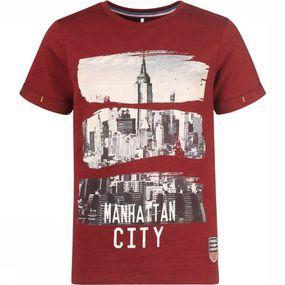 Name It T-shirt Mnbrooklyn Ss voor jongens – Rood