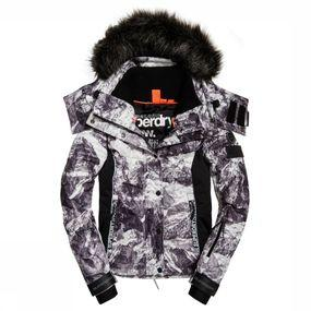 Superdry Jas Snow Puffer voor dames - Wit