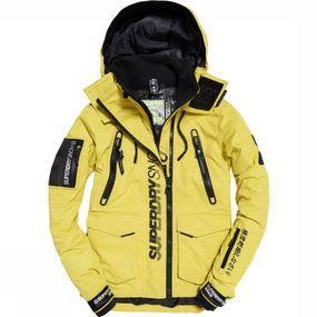 Superdry Jas Ultimate Snow Rescue voor heren - Geel