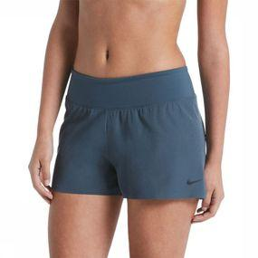Nike Short Solid Element 2,0 voor dames - Blauw