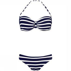 Barts Bikini Misty Bandeau voor dames - Blauw