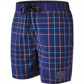Swim Shorts Check Leisure 18Inch
