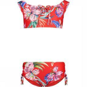 Shiwi Bikini Offshoulder Sayulita voor meisjes - Rood